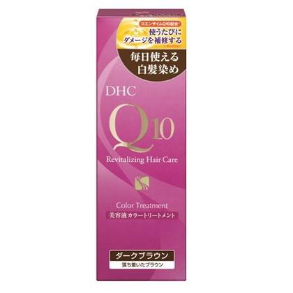 DHC Q10美容液 カラートリートメント ダークブラウン 170g
