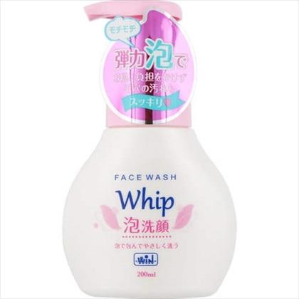 WIN ホイップ泡洗顔 本体 200ml