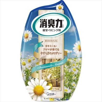 お部屋の消臭力 寝室用アロマカモミールの香り 400ml