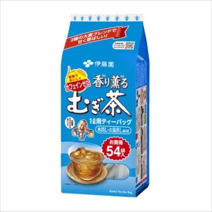 香り薫るむぎ茶 ノンカフェイン ティーバッグ 54袋