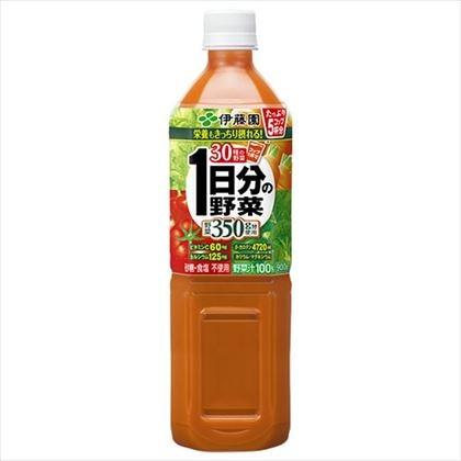 伊藤園 1日分の野菜 砂糖・食塩不使用 900g×12本(1ケース)