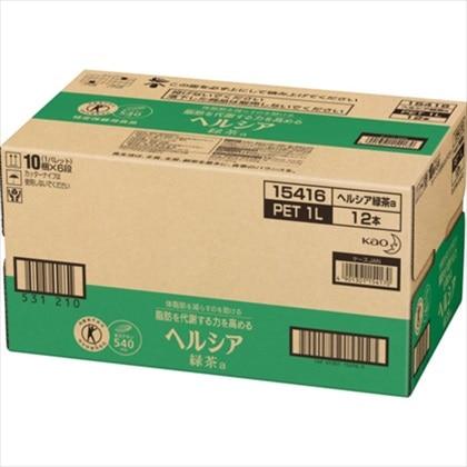 ヘルシア 緑茶 1L×12本(1ケース)