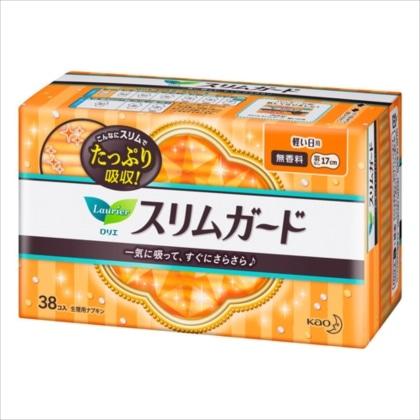 花王 ロリエスリムガード 軽い日用 38コ入[医薬部外品]
