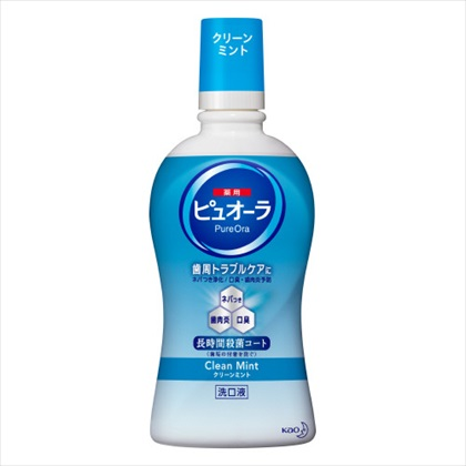 花王 薬用ピュオーラ洗口液 クリーンミント 420ml
