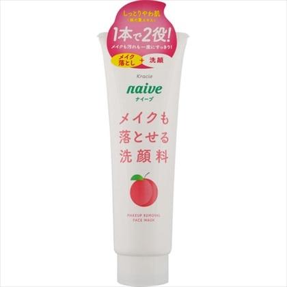 ナイーブ メイク落とし洗顔 桃の葉エキス配合 200g