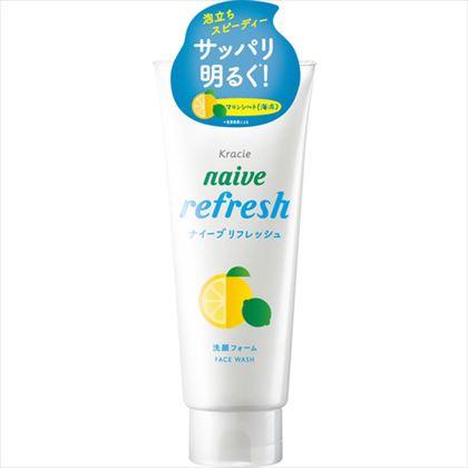 ナイーブ リフレッシュ洗顔フォーム 海泥配合 130g