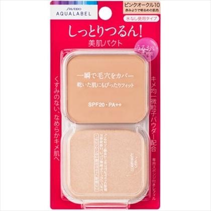 資生堂 アクアレーベル モイストパウダリー ピンクオークル10(レフィル) 11.5g