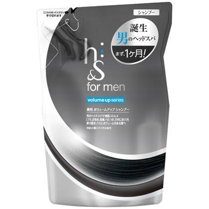 h&s フォーメン 薬用ボリュームアップシャンプー 詰替え 340ml(医薬部外品)