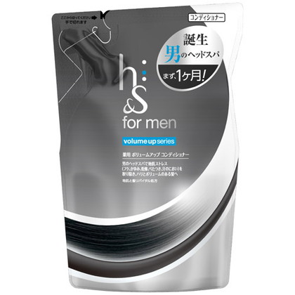 h&s フォーメン 薬用ボリュームアップコンディショナー 詰替え 340g(医薬部外品)