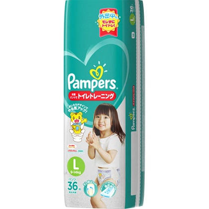 パンパース 卒業パンツでトイレトレーニング Lサイズ 36枚入