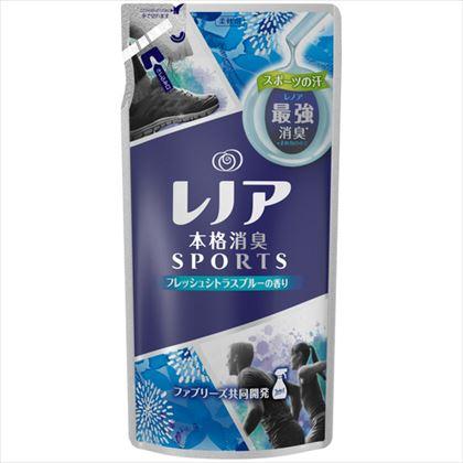 レノア 柔軟剤 本格消臭スポーツフレッシュシトラスブルー つめかえ用 450ml