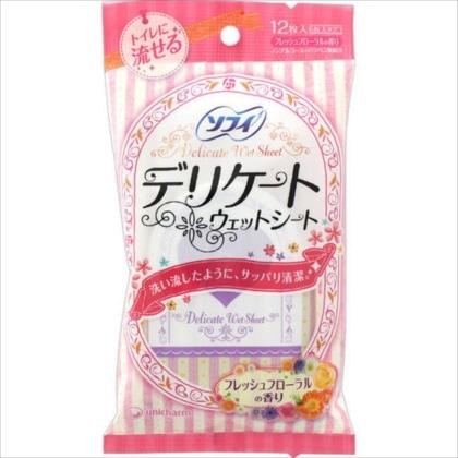 ソフイ デリケートウェット フローラルの香り 6枚×2個