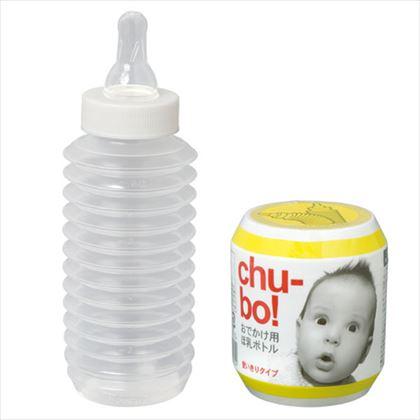 おでかけ用 ほ乳ボトル Chu-bo チューボ 使い切りタイプ 1個入