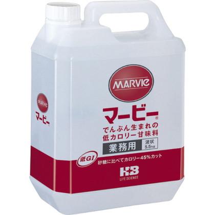 マービー 低カロリー甘味料 液状 業務用 5.5kg