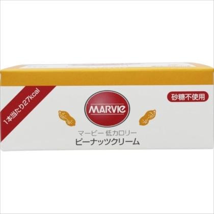 マービー 低カロリージャムピーナッツクリーム(スティック) 10g×35本