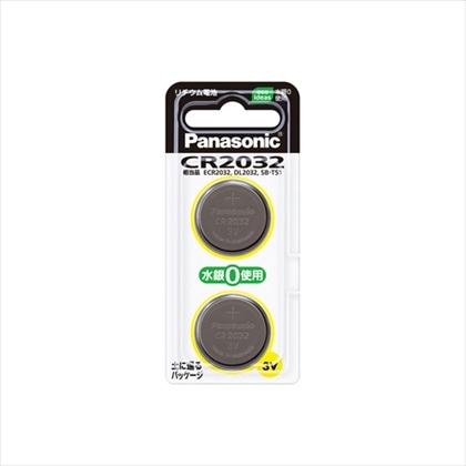 パナソニック リチウムコイン電池 2個入り CR2032