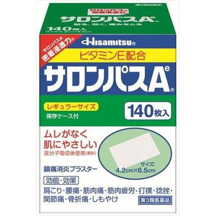 サロンパスAeレギュラーサイズ 140枚[第3類医薬品]