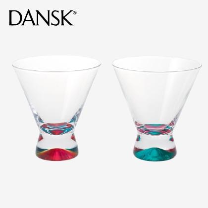 ダンスク スペクトラ ペアフリーカップ ピンク&グリーン