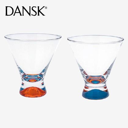 ダンスク スペクトラ ペアフリーカップ オレンジ&ブルー