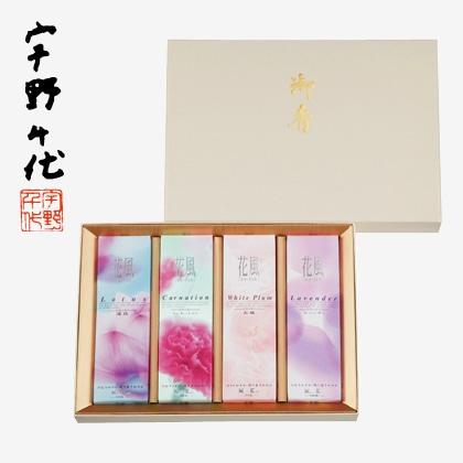 日本香堂 花風 進物 四種入