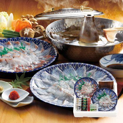 大分県産真鯛とカンパチのしゃぶしゃぶセット
