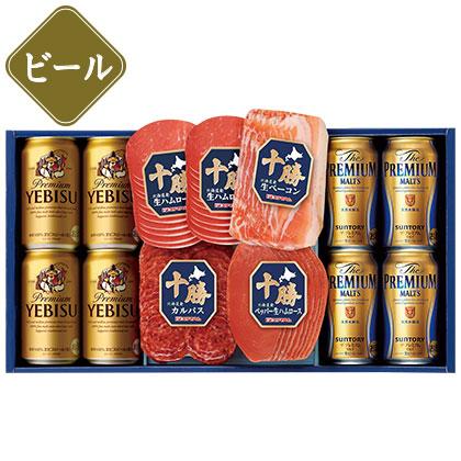 プレミアムビール・十勝生ハムセット/ビール
