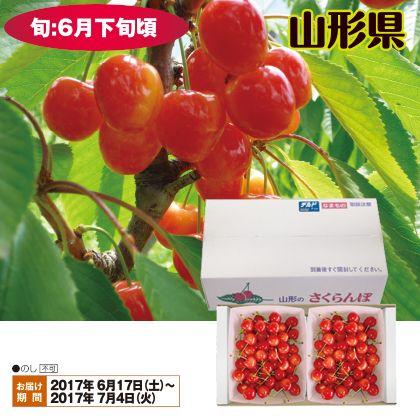 山形のさくらんぼ(佐藤錦)秀品・Lサイズ 500g×2(バラ詰)