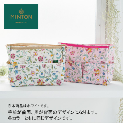 [ミントン]バッグインバッグ ホワイト