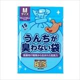 うんちが臭わない袋 BOS ペット用 (Mサイズ15枚入)