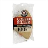 G&Gコーヒーフィルター(2〜4杯用)ブラウン100枚
