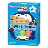 和光堂 赤ちゃんのおやつ やきいもクッキー 2本×6袋