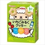 和光堂 1歳からのおやつ いちごみるくクッキー 16g×3袋