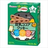和光堂 1歳からのおやつ 豆乳ココアクッキー 2本×6袋