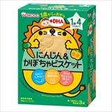 和光堂 1歳からのおやつ にんじん&かぼちゃビスケット 11.5g×3袋