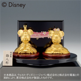 〈ディズニー〉純金ミッキー&ミニー 雛人形