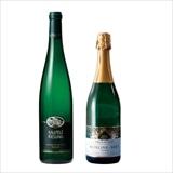 ドイツ 白ワイン・スパークリングワイン2本セット