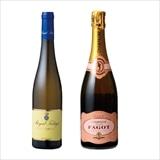 ハンガリー白ワイン・シャンパーニュ2本セット