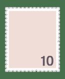 10円普通切手
