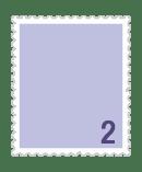 2円普通切手