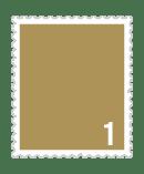1円普通切手