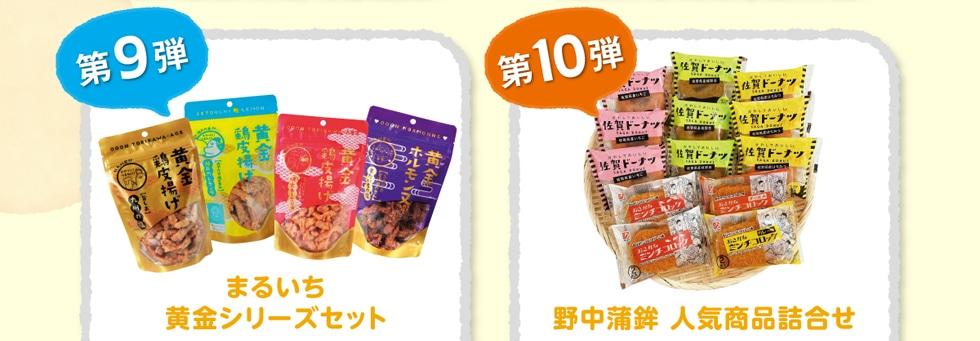 第9弾 まるいち黄金シリーズセット / 第10弾 野中蒲鉾 人気商品詰め合わせ